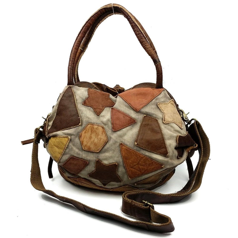 BEKILOLE Womens Leather Vintage Handbags Shoulder Handbag Tote Top Handle Bag Cross Body Bags Satchel for Ladies Large Capacity