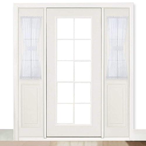Door Window Curtains Amazon Com: Front Door Blinds: Amazon.com