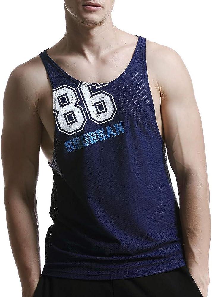 ASHOP Camisetas Hombre 2019 Summer T-Shirt Permeable al Aire Malla ...