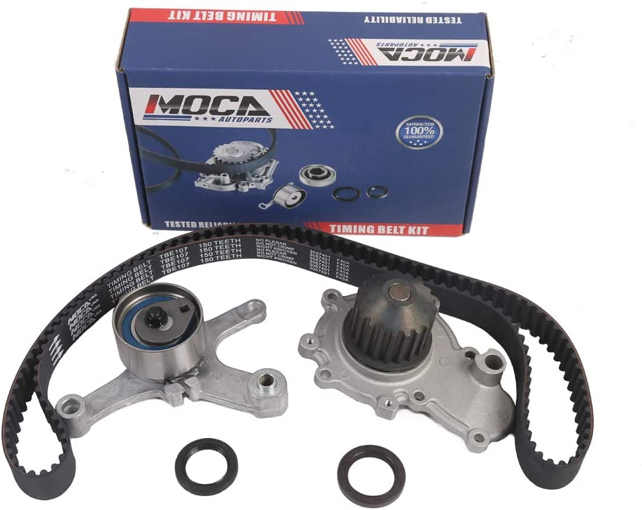 Engine Timing Belt Kit with Water Pump Gates TCKWP245A
