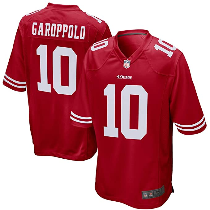 brand new 8eb7e 46e39 Outerstuff Youth Jimmy Garoppolo #10 San Francisco 49ers Game Jersey –  Scarlet