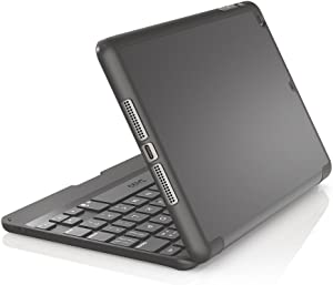 ZAGG Folio Case, Hinged with Bluetooth Keyboard for iPad mini/mini Retina - Black