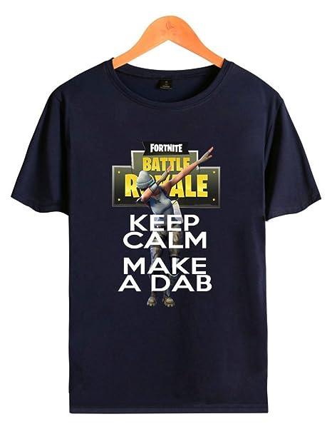 SERAPHY Unisex Game Battle Royale Fortnite Figuras Shirt Colorful Unicorn Camiseta kmaYoy