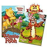 Disney Winnie The Pooh Coloring And Activity Book Set (2 Books - 96 Pages)