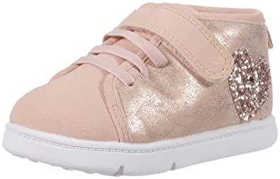 d7424db786ab Carter s Every Step Atami-P Baby Girl s Walking High-Top Sneaker Rose Gold 2