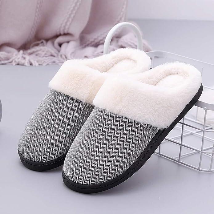 Zapatillas para microondas Pantuflas térmicas, Mujeres Hombres ...