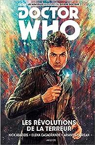 Doctor Who le dixième docteur, tome 1 : Les révolutions de la terreur par Elena Casagrande