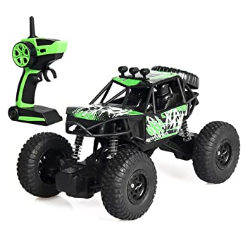 ★ 1//20 Scale 2.4G 4WD Rock Crawler Off-Road Vehicle RC Car Toy Truck Gifts