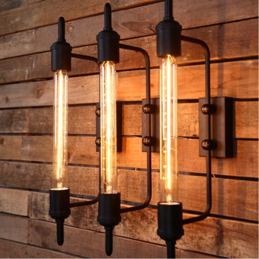 Warm Amerikanischen Land Retro LOFT Nordic Nacht Dekorative Linse Licht 5-10 Quadratmeter Beleuchtung Gartentreppe Dampfrohr Wandleuchte Beleuchten Sie Ihr Zuhause