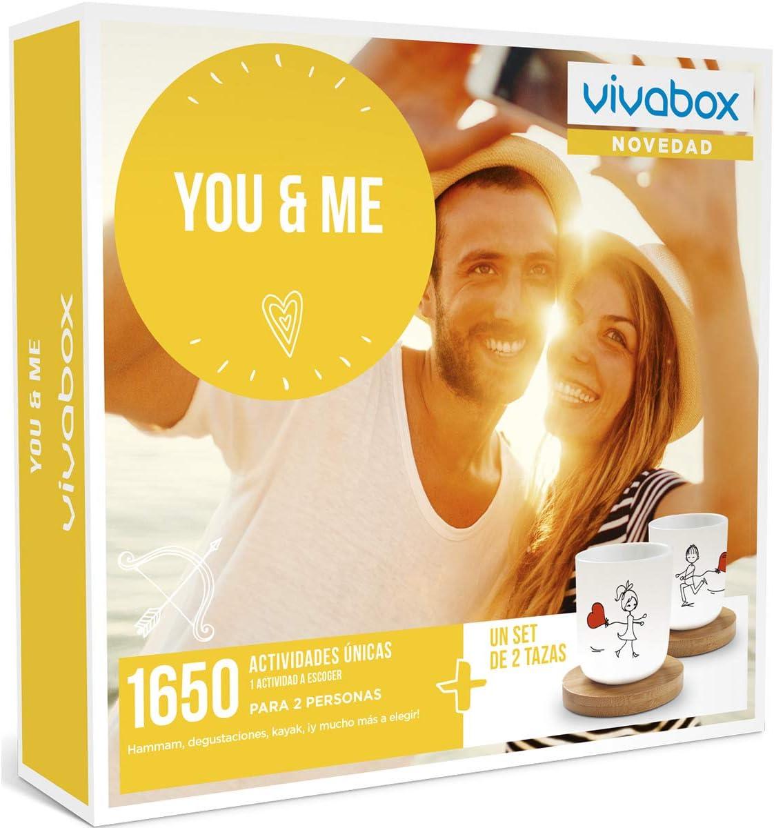 VIVABOX Caja Regalo-You & ME-1.650 Actividades. Incluye: un Juego ...