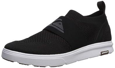 b56e3cd86168 Amazon.com  Quiksilver Men s Amphibian Plus Slip-on Sneaker  Shoes