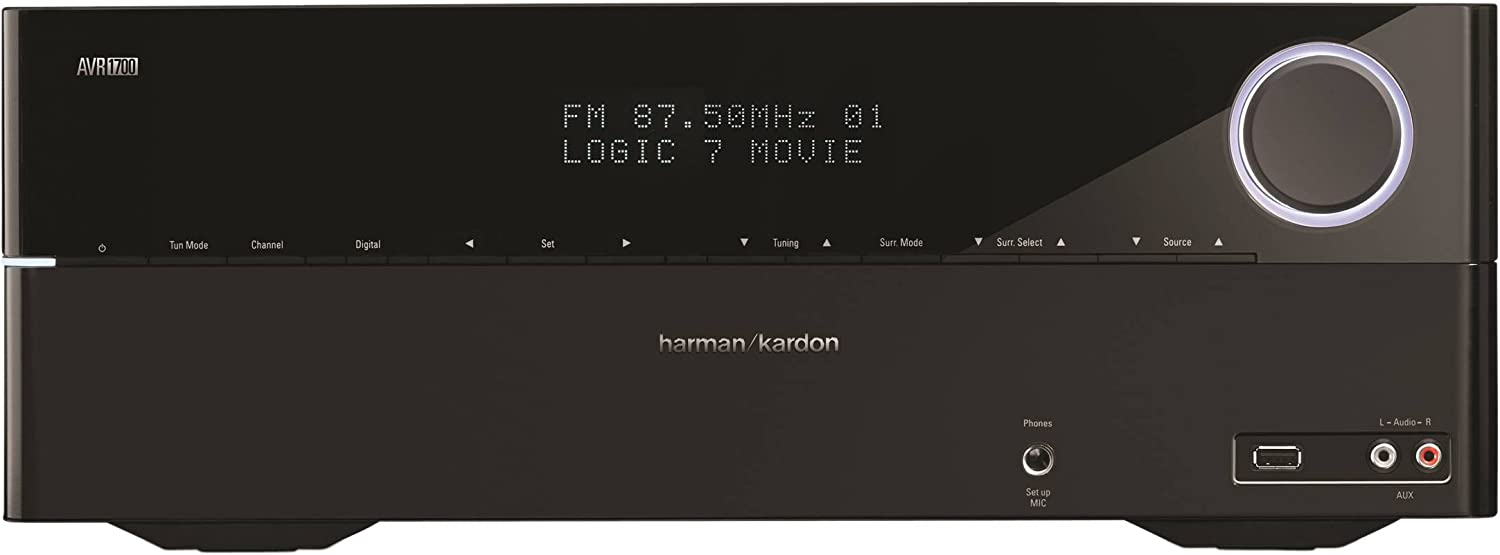 Harman Kardon AVR 1700 5.1-Channel Network-Connected Audio/Video Receiver with AirPlay
