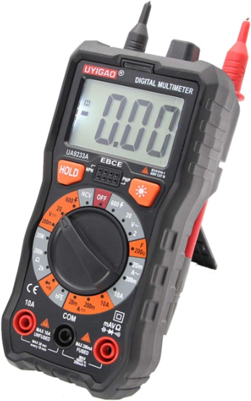 Tyannan LCD Display Range Digital Multimeter DC AC Voltage Current Resistance Digital Multimeter Tester Universal Electric Meter UA9233A