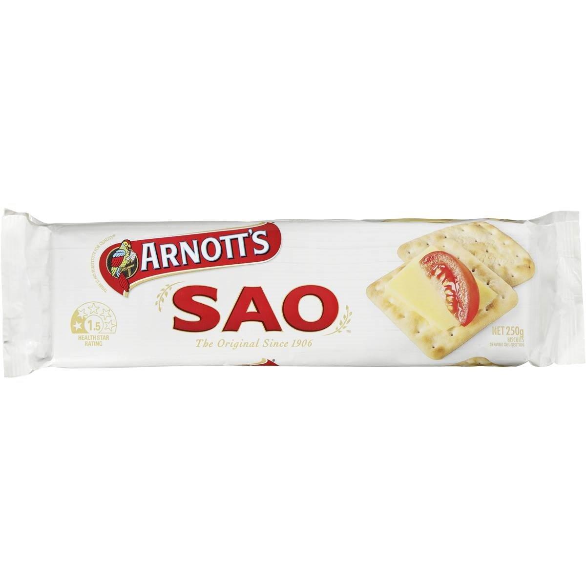 Arnotts Sao 250g