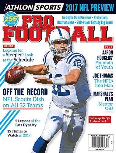 (Athlon Sports 2017 Pro Football Indianapolis Colts Preview Magazine)