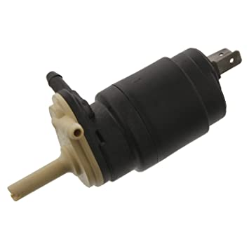 Febi-Bilstein 14368 Bomba de agua de lavado, lavado de parabrisas: Amazon.es: Coche y moto