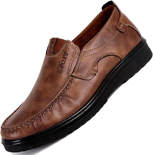 Homme Chaussure Basket Mode Chaussons pour Marcher à Pied Sneakers sans Lacet Pied Large Antidérapant Léger Respirant 38 47