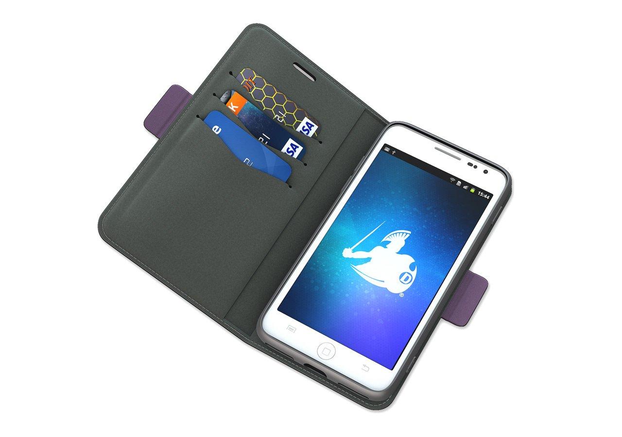 DefenderShield Compatible iPhone X/XS EMF Radiation Case - Anti Radiation Shield & RFID Blocker Wallet Case - Cell Phone Radiation Protection