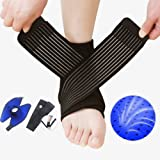 Tdas Adjustable Ankle Support Pad Brace Cap Sleeve Socks Wrap Straps Band Bandage For Pain Relief For Unisex (1)