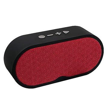 KAIFH Altavoces Bluetooth Altavoz Exterior Mini Tarjeta ...