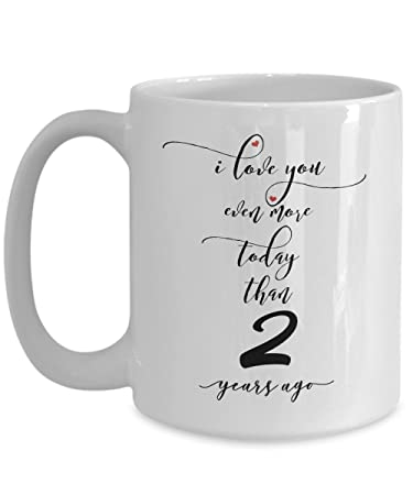 Amazon 2nd Wedding Anniversary Gifts For Him I Love You More