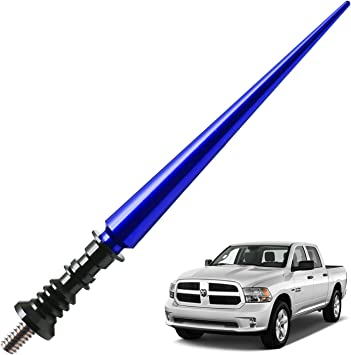JAPower AM FM Car Antenna Replacement for Fiat Abarth 2012-2018 2 inches-Blue