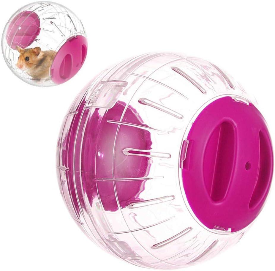 zuoshini Hamster Ball Exercise Ball for Hamsters Hamster Running Exercise Wheel Ball Healthy and Safe Mini-Run Exercise Ball 14cm