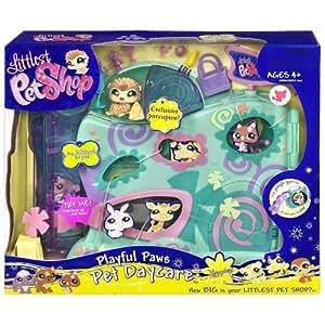 Amazon Com Littlest Pet Shop Daycare Playset Toys Amp Games