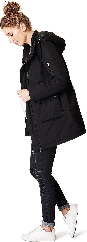 ESPRIT Maternity da doonna Push-Parka Donna Giacca//Cappotto Invernale Parker I84451
