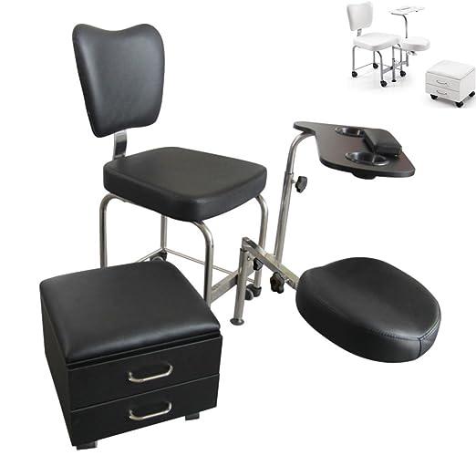 2 opinioni per ATHOS sgabello per estetista da massaggi pedicure manicure estetica