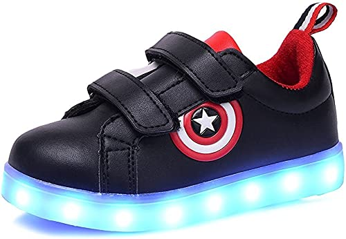 strengths Boys Girls Light Up Shoes LED Sneakers Kids Toddlers Flashing Sneakers