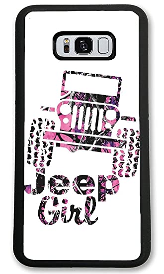sneakers for cheap 926f8 e126f Personalize Samsung Galaxy S8 Plus Cases - Jeep girl pink camo Hard Plastic  phone cell Case for Samsung Galaxy S8 Plus