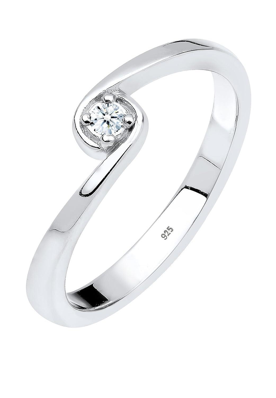 0 0604941213 Ct 03 Diamore Femmes 9251000 Diamant Blanc Argent Bagues FKclJT1