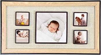 Homelex Wood Picture 7-13 inch Photo Frame for Wall Decor