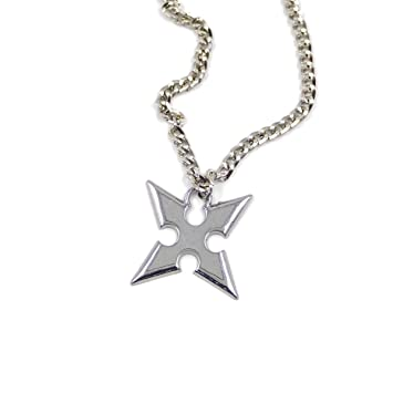 Kingdom hearts 2 roxas necklace amazon toys games kingdom hearts 2 roxas necklace aloadofball Gallery