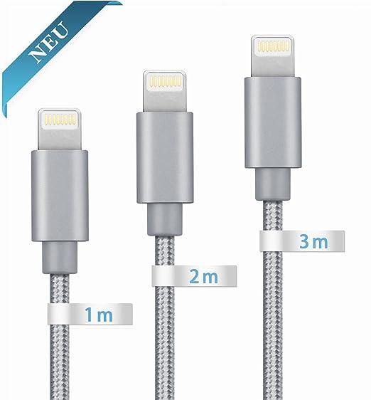 9 opinioni per GlobaLink® Cavo USB Lightning iPhone in Nylon Intrecciato Graranzia a Vita 3