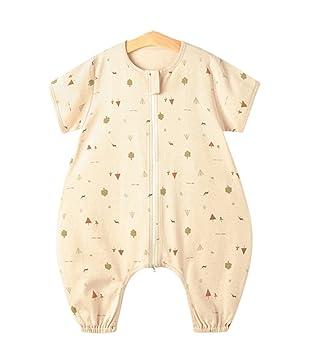 1ef5936b5cf5f4 Chilsuessy Baby Sommer Unisex Schlafsack mit Beinen Sommerschlafsack ...