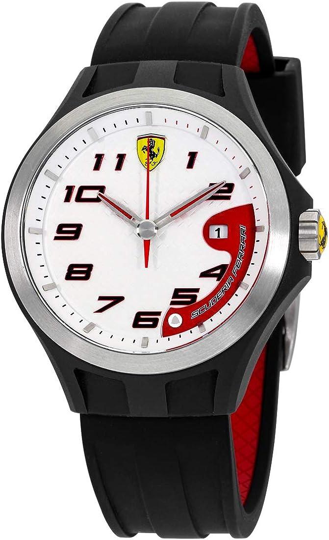 Reloj Ferrari de Hombre. Modelo 0830013. Coleccion LAP TIME. Esfera redonda de