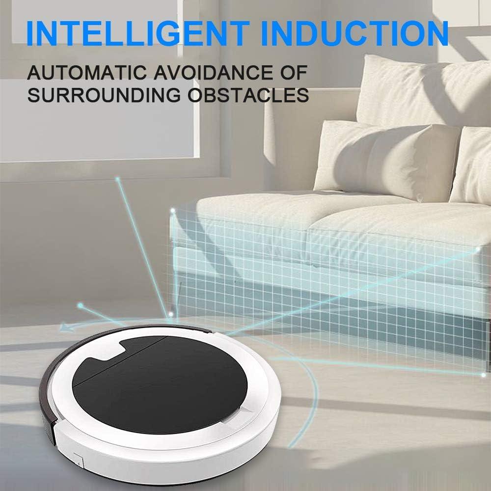 3 in 1 Robot Aspirapolvere Professionale con Mappatura Lavapavimenti Ultravioletti Eliminano 99,99/% Batteri Telecomando Lavoro Silenzio Intelligenti per Casa