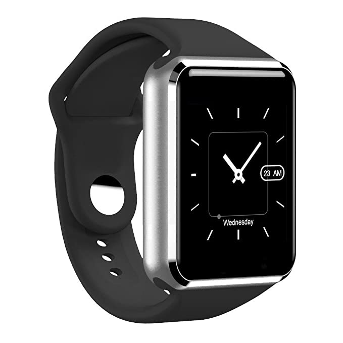 Bluetooth Smart Watch Touch Screen,YOKEYS Sweatproof Smartwatch Phone with SIM 2G GSM for Samsung Nexus6 HTC Sony and Android Smartphones Support ...