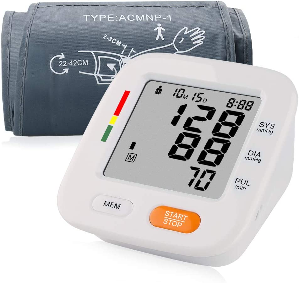 Blood Pressure Monitor with Blood Pressure Cuff 8.7-16.5 inch IHB Indicator 2 Users * 90 Times Memory Recall FDA Approved