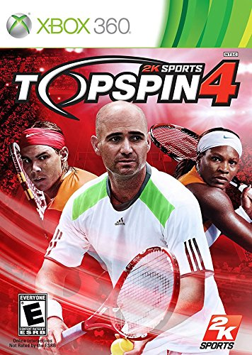 Top Spin 4 - Xbox 360 - Tennis 4