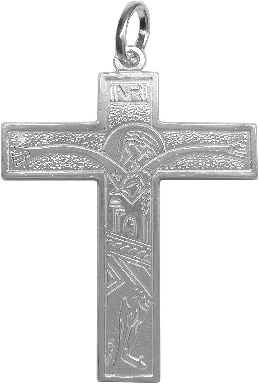 Camino Neocatecumenal Plata de ley 925m Sebaoth Colgante Cruz de las familias Diferentes tama/ños