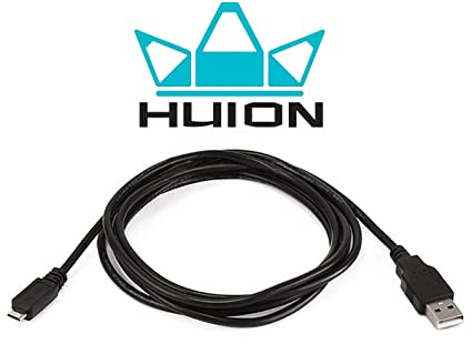 Amazon com: USB Data Cable for Huion L45, LB3, WH1409, New