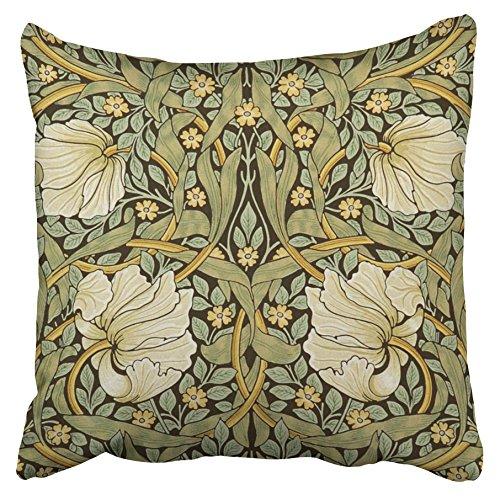 Emvency Decorative Pillowcases Pimpernel Vintage Pre Raphaelite Throw Pillow Covers Cases Cushion Sofa 16x16 Inches(40x40cm) One Side - Art Deco Sofa