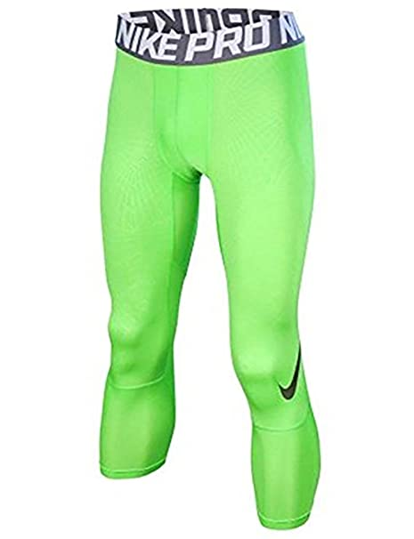 bc0ae3b615a0e Amazon.com : NIKE Men's Pro Hypercool 3.0 Football Tights-Action Green-Small  : Sports & Outdoors