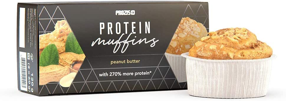 Prozis 2 x Protein Muffins – Manteca de aráquidos 60 g ...