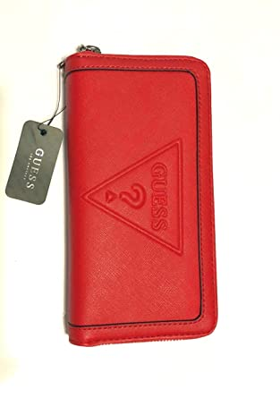1568ec339c5 Image Unavailable. Image not available for. Color  Guess Wallet Red  Baldwinpark ...