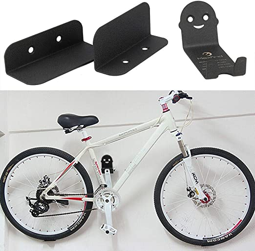 JUEYAN® 3pcs Pared Montado Bicicleta Gancho de Acero Soporte ...