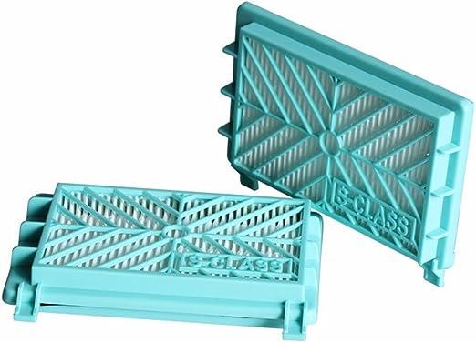 reyee 2 unidades filtro HEPA aspirador para Philips (referencia ...